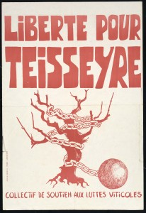 Protest Poster Against the Imprisonment of Albert Teisseyre, courtesy of CIRDOC