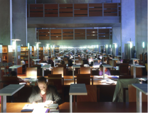 Research library reading room © Alain Goustard / BnF